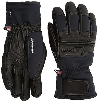 c9e5438555adb Ziener GIP GWS PR Glove Ski Alpine Gants Homme, Black, FR Unique (Taille