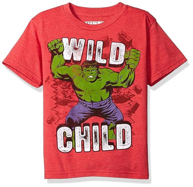 a86dba28 Amazon.com: Marvel Little Boys' the Incredible Hulk T-Shirt: Clothing