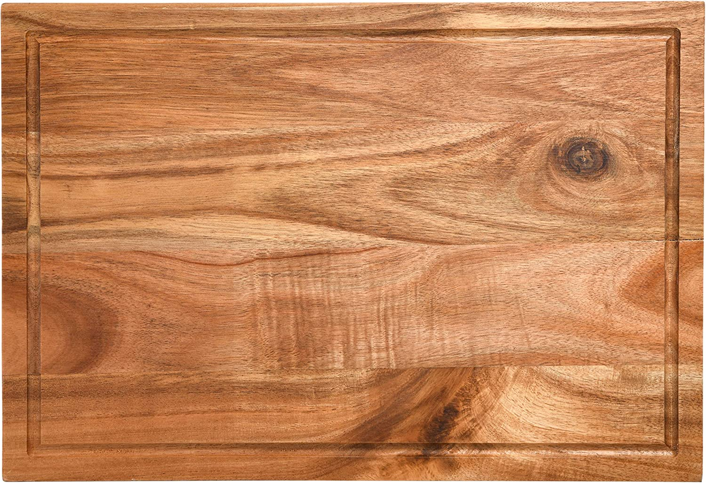 Kenmore Archer Wood Cutting Board, 18x12, Acacia