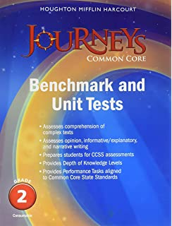 Amazon journeys common core weekly assessments grade 2 journeys benchmark tests and unit tests consumable grade 2 grade 2 fandeluxe Gallery