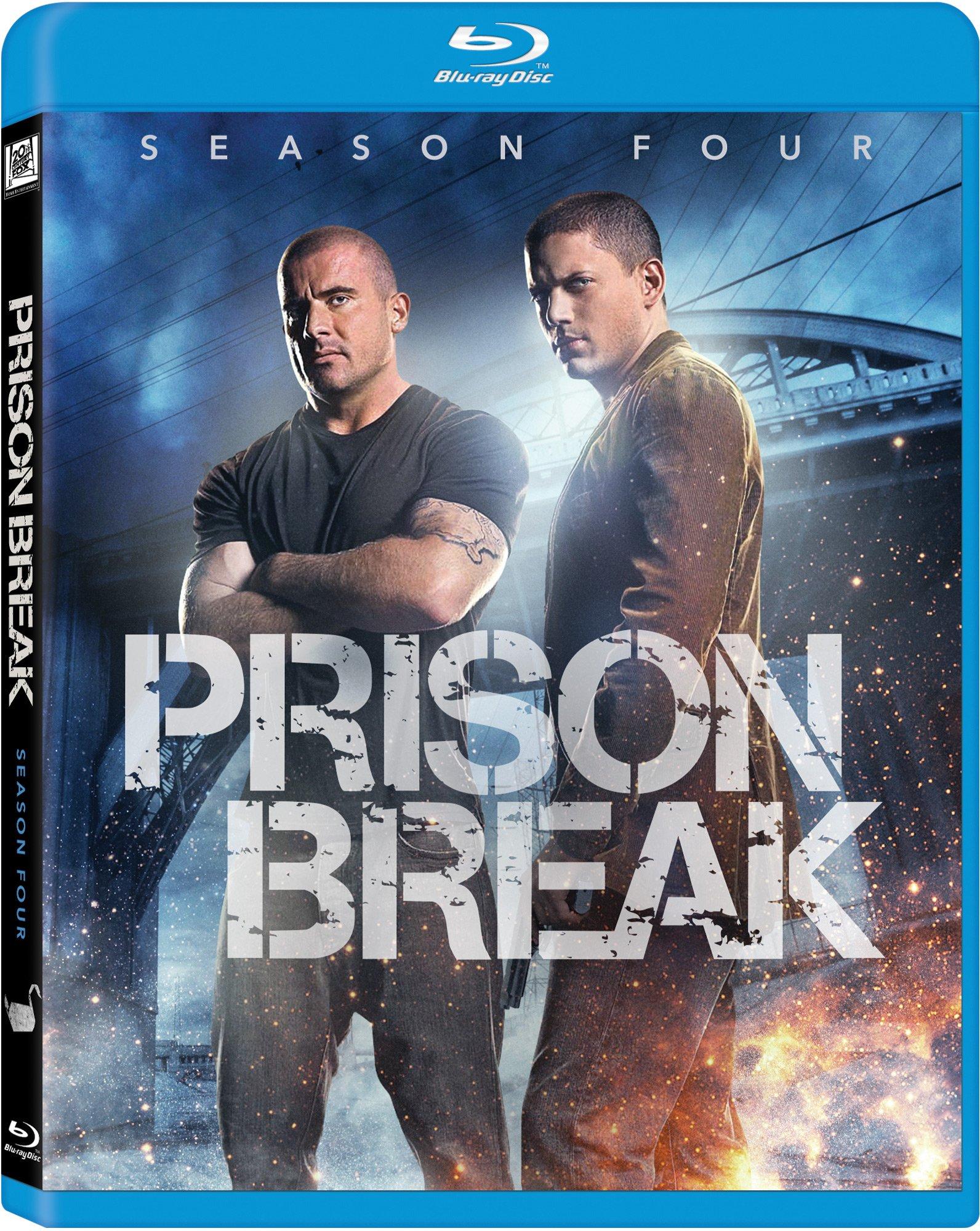 Blu-ray : Prison Break: Season 4 (Boxed Set, Widescreen, Digital Theater System, AC-3, Dolby)