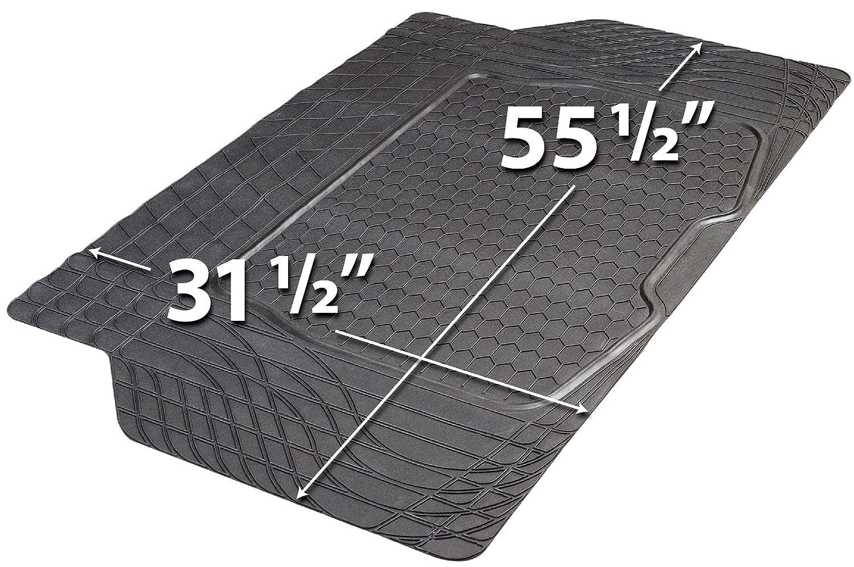 Custom Accessories Armor All 78917 Black Heavy Duty Rubber Cargo Mat