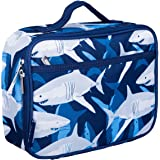 Wildkin Kids Insulated Lunch Box Bag for Boys and Girls, Perfect Size for Packing Hot or Cold Snacks for School and Travel, M
