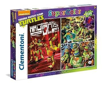 TORTUGAS NINJA - Puzzle, 3 x 48 Piezas (Clementoni 25194 ...