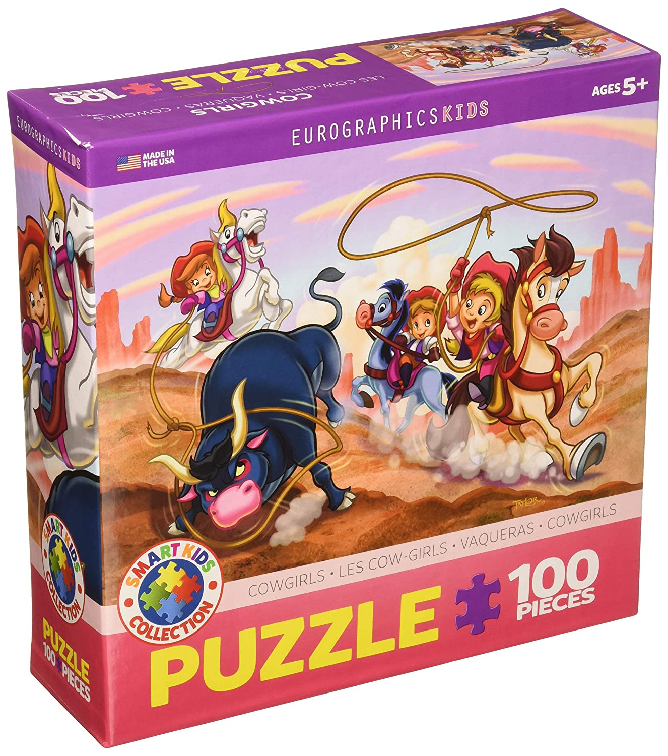 100-Piece Cowgirls Puzzle EuroGraphics Girl Power