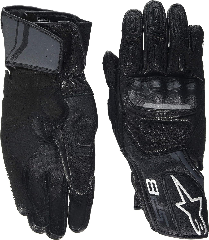 Alpinestars Motorcycle Gloves Sp-8 V2 Black Size S