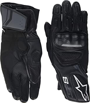 Alpinestars Motorcycle Gloves Sp-8 V2 Size S Black