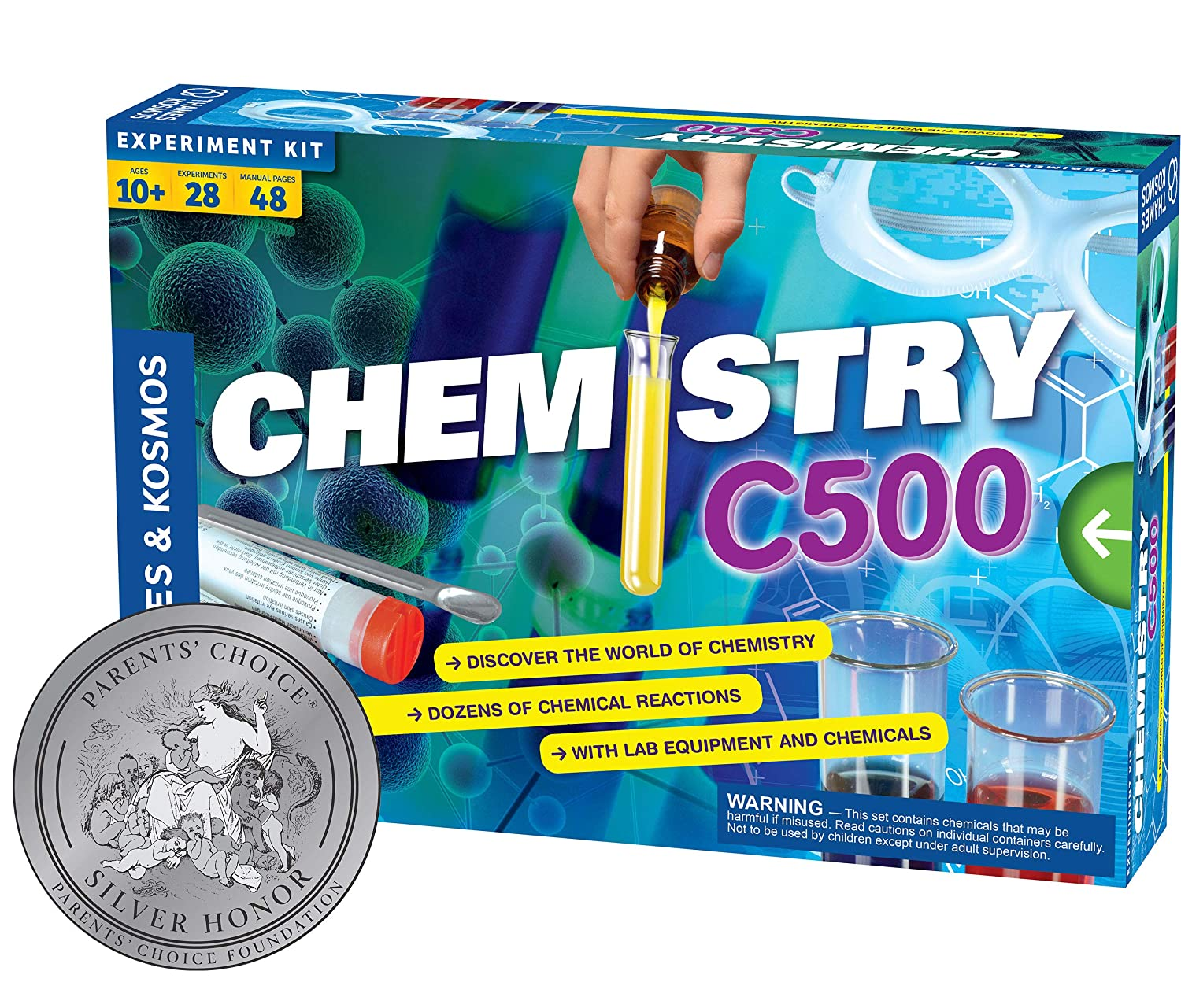 Thames and Kosmos Chemistry Chem C500-Best Science Kits for kids