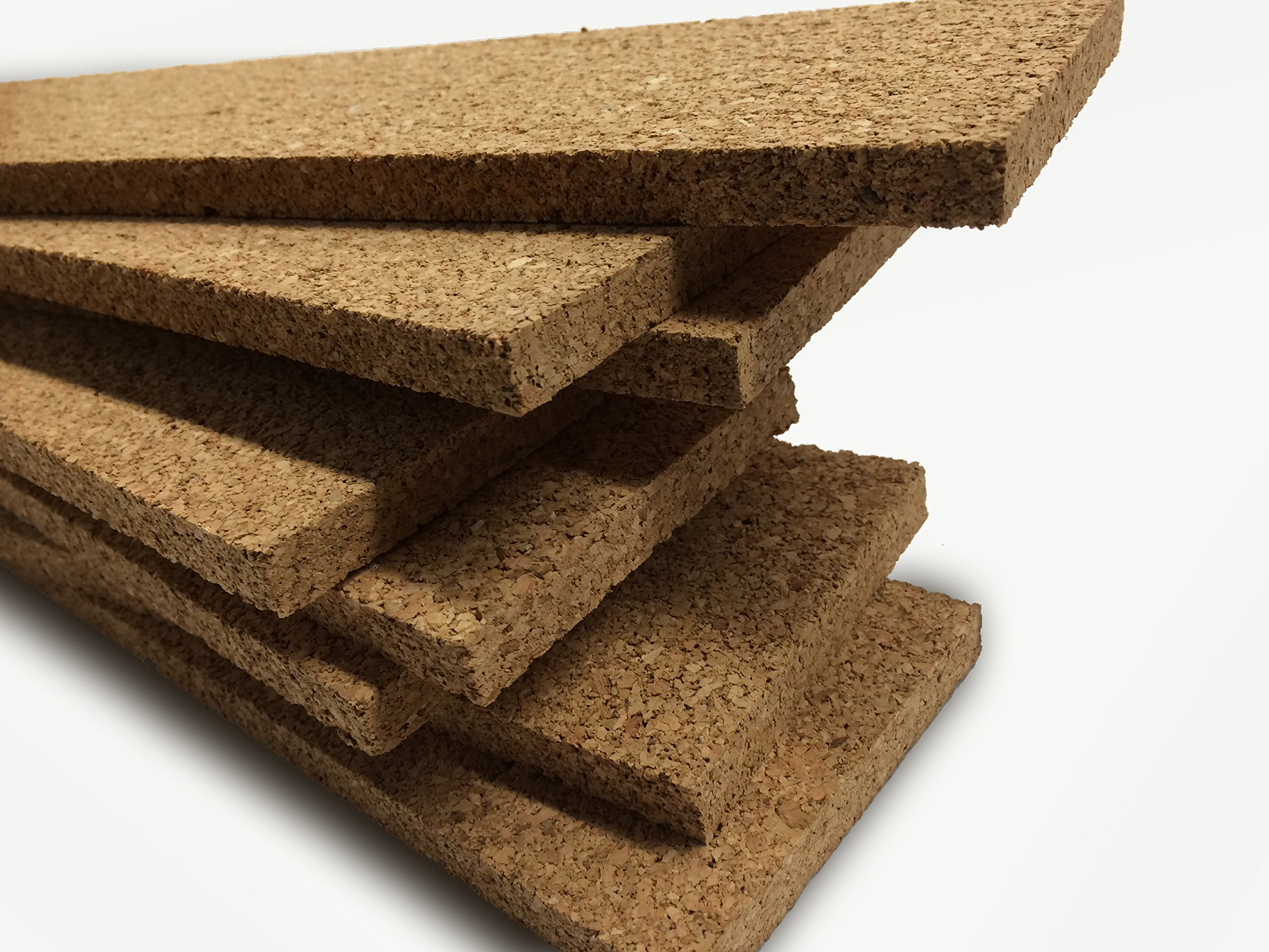 Thick Multi Purpose Cork Strips (8 Pack) Classroom Bulletin Board Bar 36x3.5x0.5 Inches by Jelinek Cork Group (Image #5)