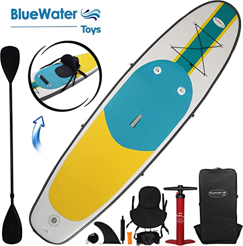 10 Inflatable Stand Up Paddle Board Kayak And SUP 6 Inches Thick