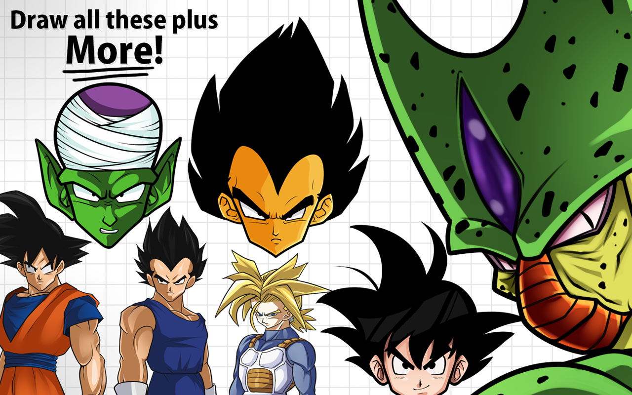 Amazoncom How to Draw Dragon Ball Z Pro Edition Appstore for