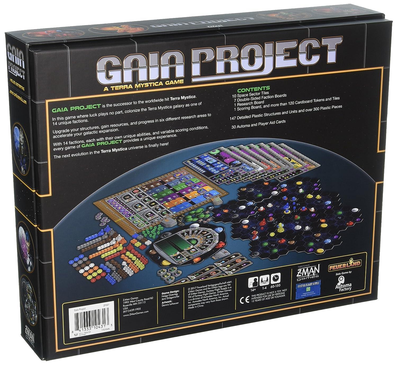 Z-Man Games Gaia Project: Amazon.es: Juguetes y juegos