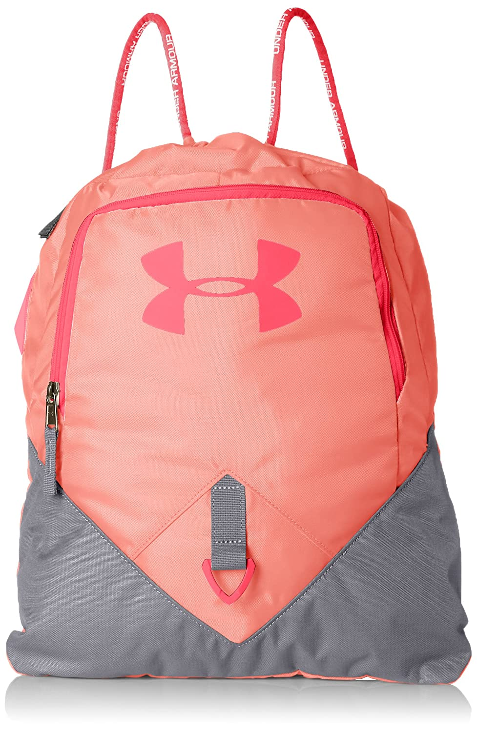 Under Armour Undeniable Unisex Sackpack Black / White / Silver (001) One Size 1261954