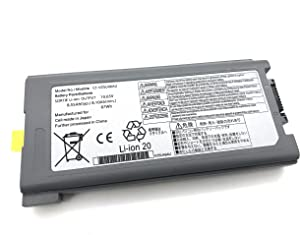 Aluo CF-VZSU46AU Laptop Battery for Panasonic Toughbook CF-30 CF-31 CF-53 Serie CF-VZSU46S CF-VZSU46U CF-VZSU46R CF-VZSU46AU CF-VZSU71U CF-VZSU72U CF-VZSU1430U 11.1V 7800mAh