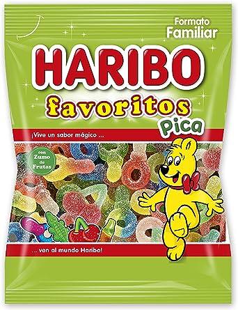 Haribo Favoritos Pica Caramelos de Goma - 275 gr - [Pack de 4]: Amazon.es: Alimentación y bebidas