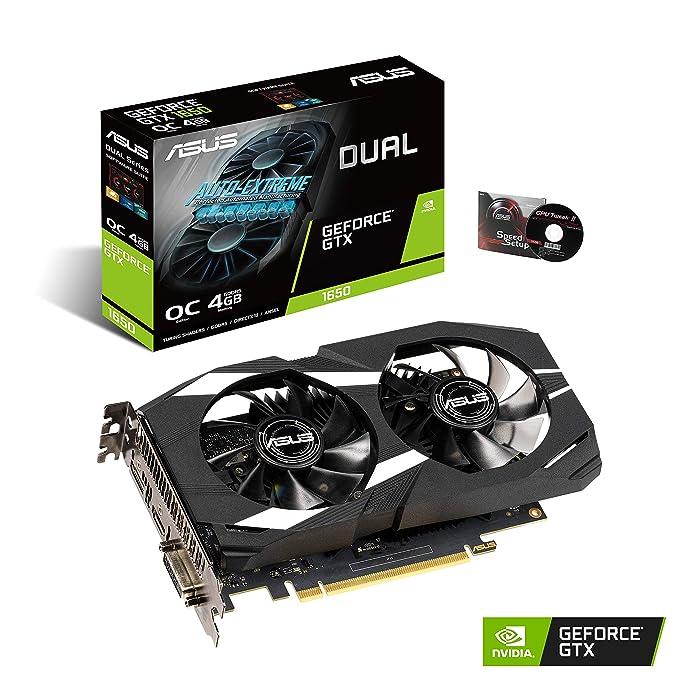 Amazon.com: ASUS GeForce GTX 1650 - Tarjeta gráfica HDMI DP ...