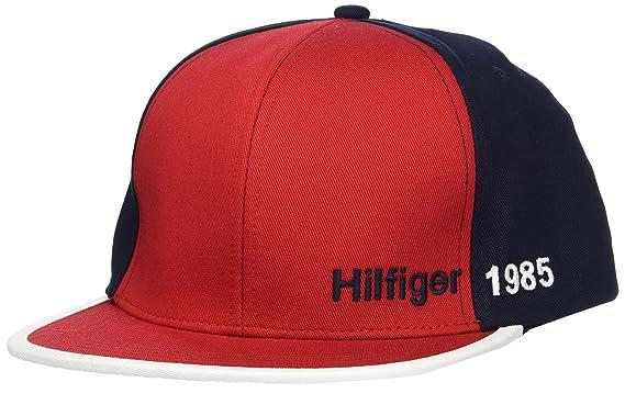 Tommy Hilfiger Colour Block Cap, Gorra de béisbol para Hombre, (Corporate Clrs)