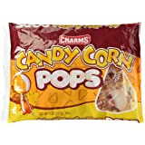 Charms Candy Corn Pops 11 oz bag (Pack of 2)
