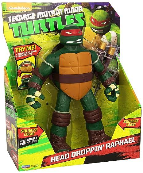 Teenage Mutant Ninja Turtles Rafael Cabeza caída Tortugas ...