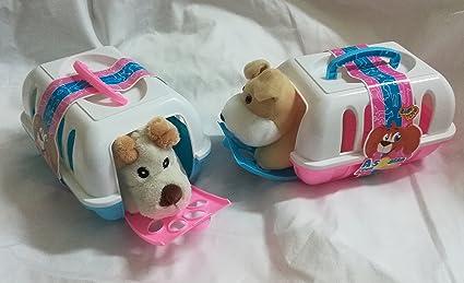 Takestop® Transportín a Spasso Puppy cesta con peluche perro perro Caseta Juegos infantil desde 3