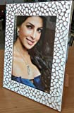 """Creative Arts N Frames Photo Frame    Photo Size : 5""""X 7""""    Outer Frame Size : 7""""X 9""""    Latest Silver White Design   """