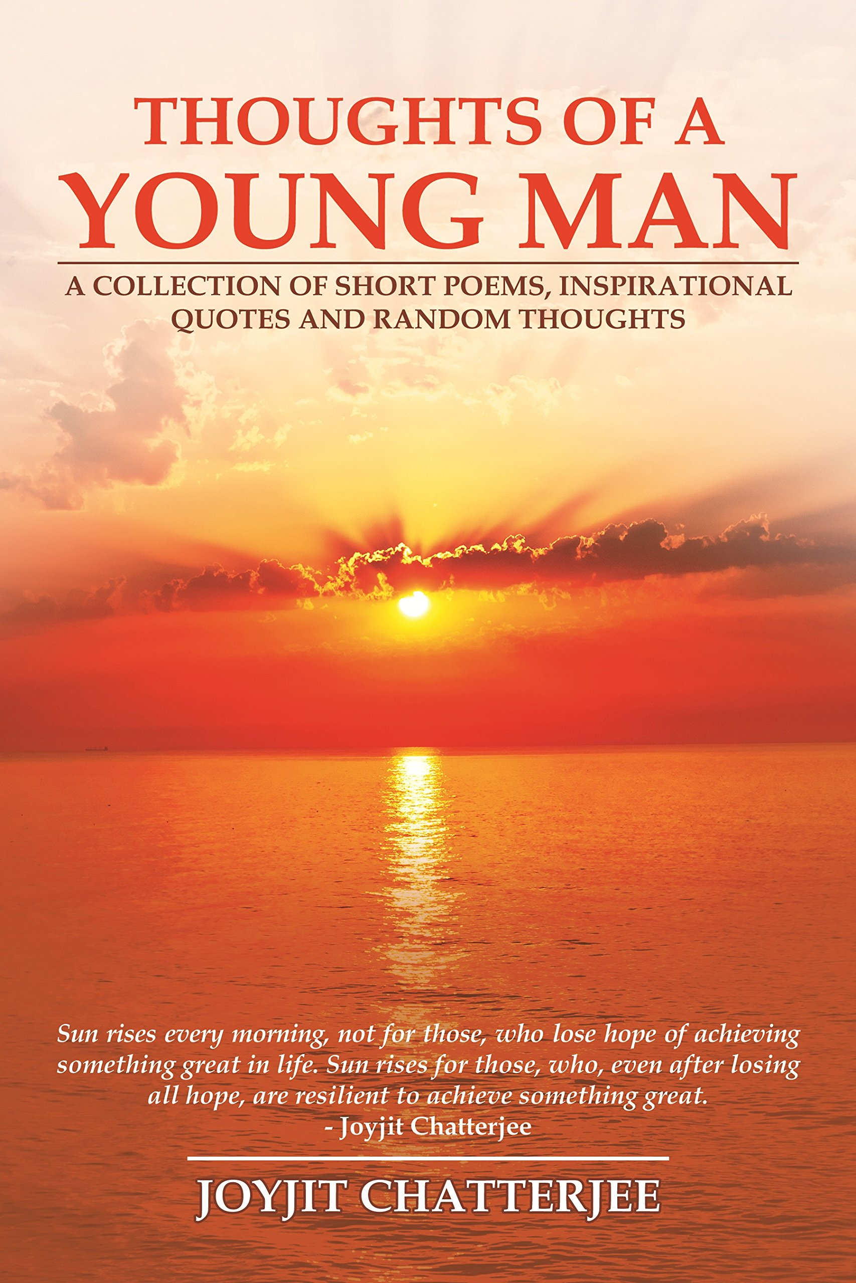 Buy Thoughts Of A Young Man English Book Online At Low Prices In India Thoughts Of A Young Man English Reviews Ratings Amazon In