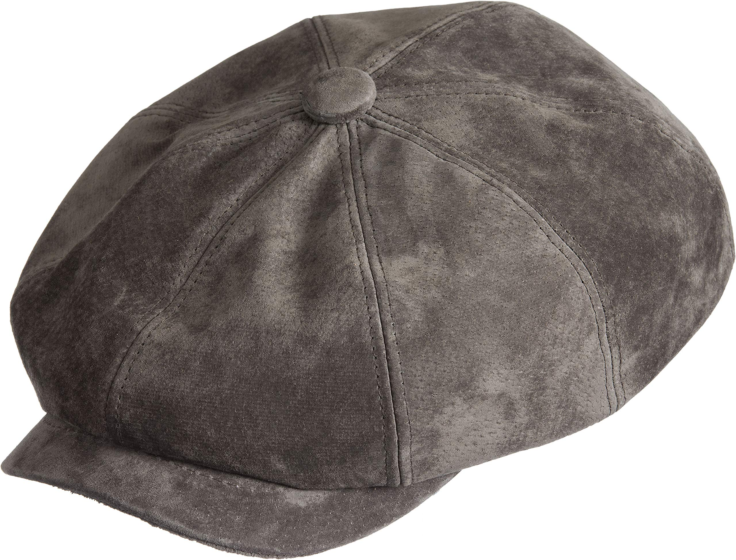 Calvin Classic Suede Ivy Cap Brown by Overland Sheepskin Co