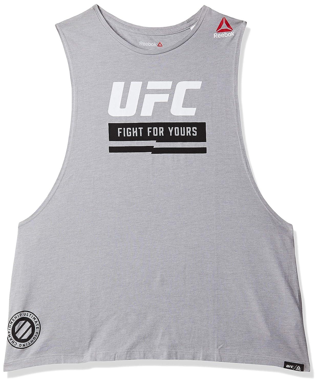 Mujer Reebok UFC FG Logo Tank Camiseta de Tirantes