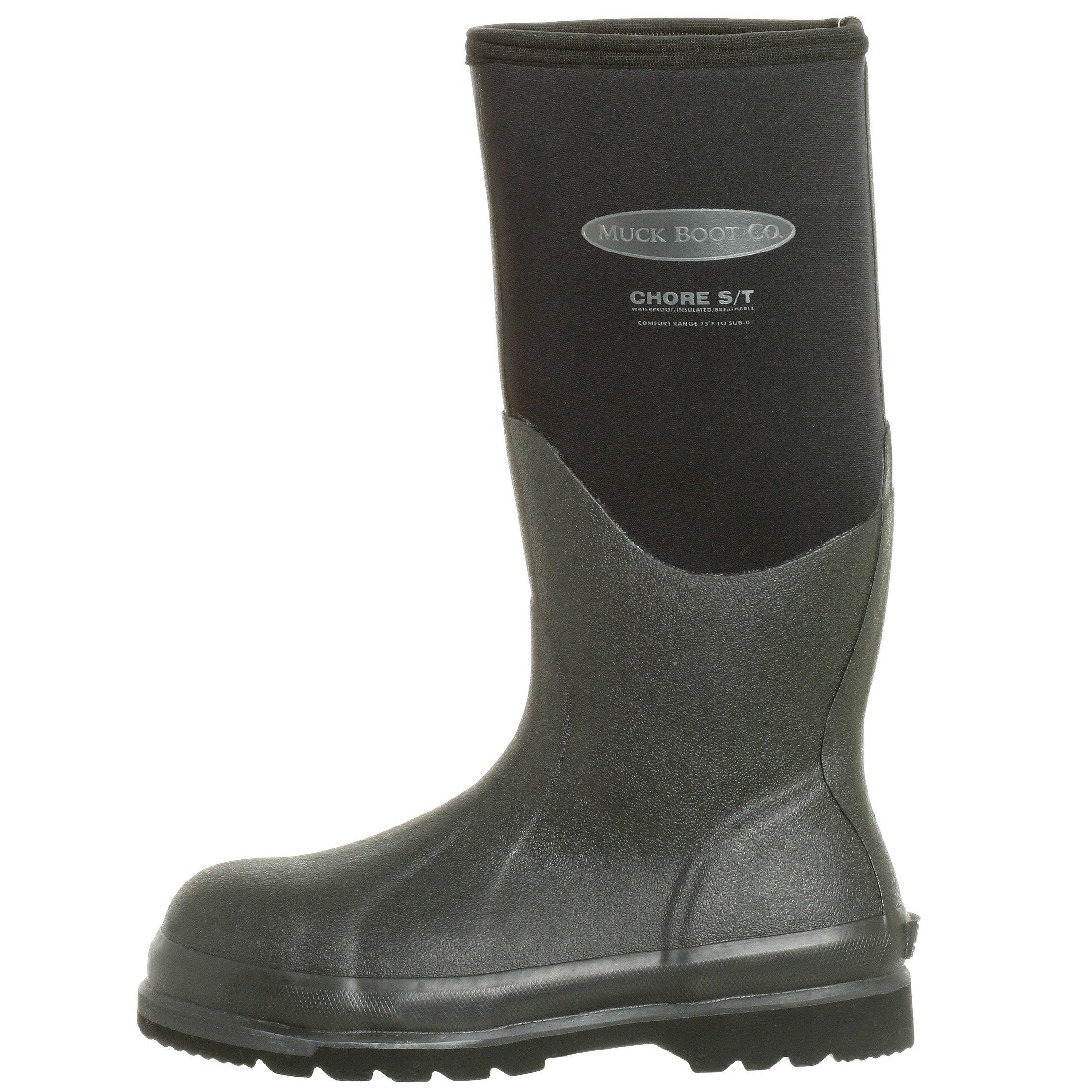 The Original MuckBoots Adult Chore Hi Boot Steel Toe,Black,Men's 12 M/Women's 13 M by Muck Boot (Image #5)