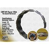 """Razor Wire Razor Ribbon Barbed Wire 18"""" 1 Coil 50 Feet Per Roll"""