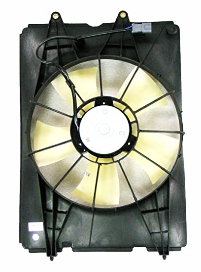 Depo 317-55034-100 Radiator Fan Assembly (HONDA RIDGLIN 06-08)