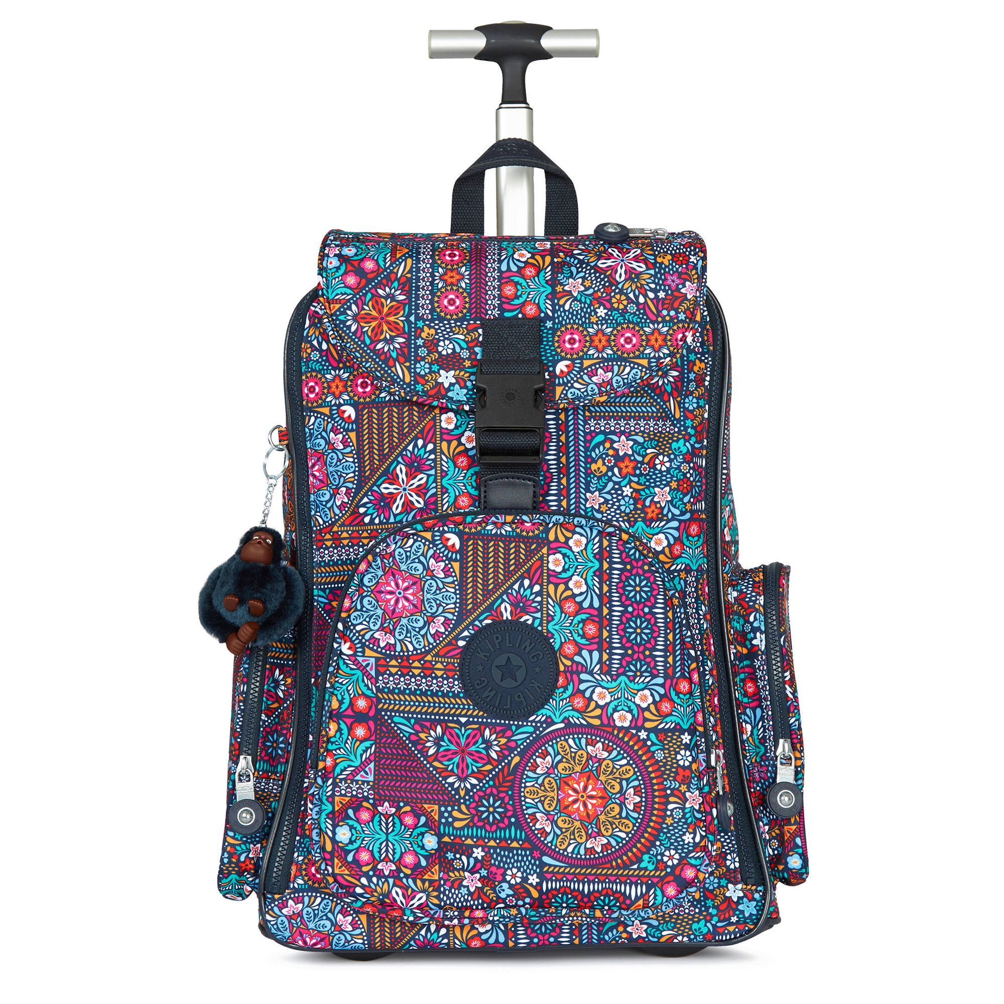 Kipling Women's Alcatraz Ii Printed Rolling Laptop Backpack One Size Dizzy Darling Multi by Kipling (Image #3)