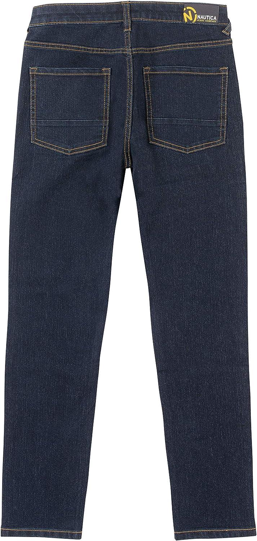 Nautica Boys Straight Leg Stretch Denim Pant