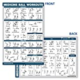 QuickFit Medicine Ball Workout Poster - Exercise