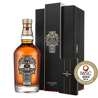 cb9a5ff05bb Chivas Regal 25 Year Old Scotch Whisky, 70 cl: Amazon.co.uk: Grocery