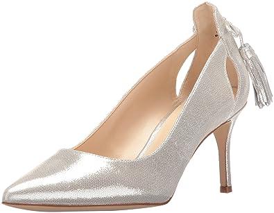 0b4c60c0edf2 Nine West Women s Modesty Metallic Dress Pump Silver 6 ...