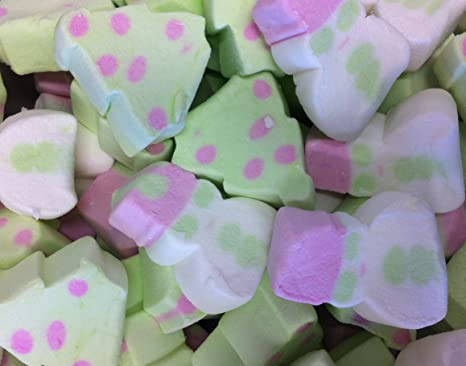christmas marshmallows 1kg bag decorations party bags hot chocolate - Christmas Marshmallows