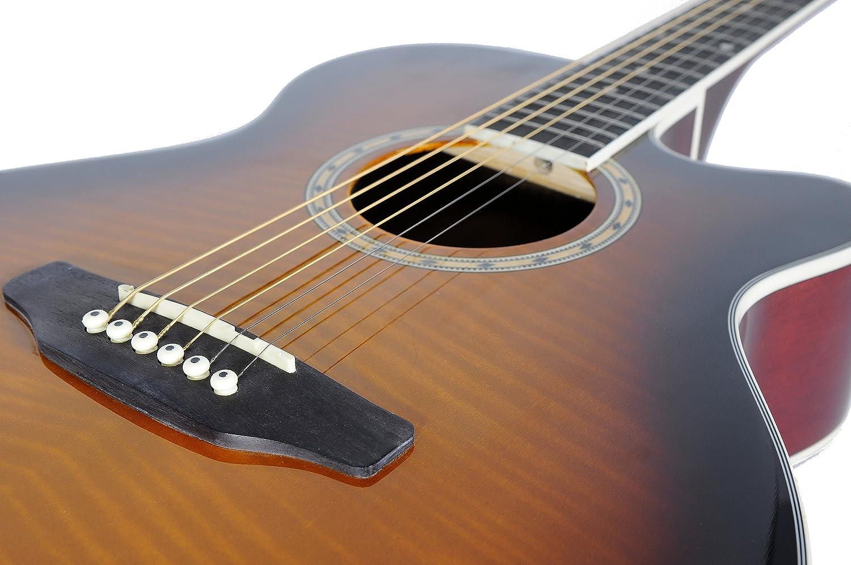 Ashton Sl29ceq - Guitarra acústica Slim Line Electro, color ...