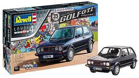 Revell 05694 12 Maqueta de 35 Years Volkswagen Golf GTI Tapicería en escala 1: 24