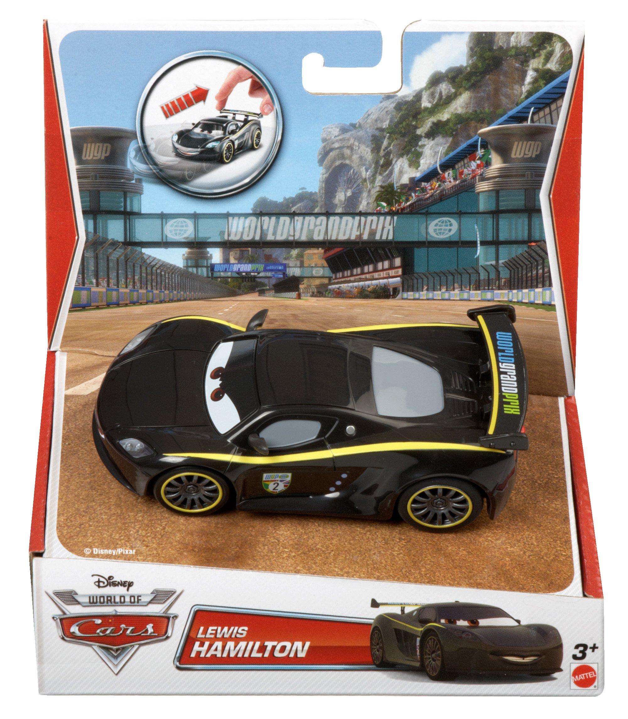 Disney Pixar Cars Pull Backs Lewis Hamilton Vehicle