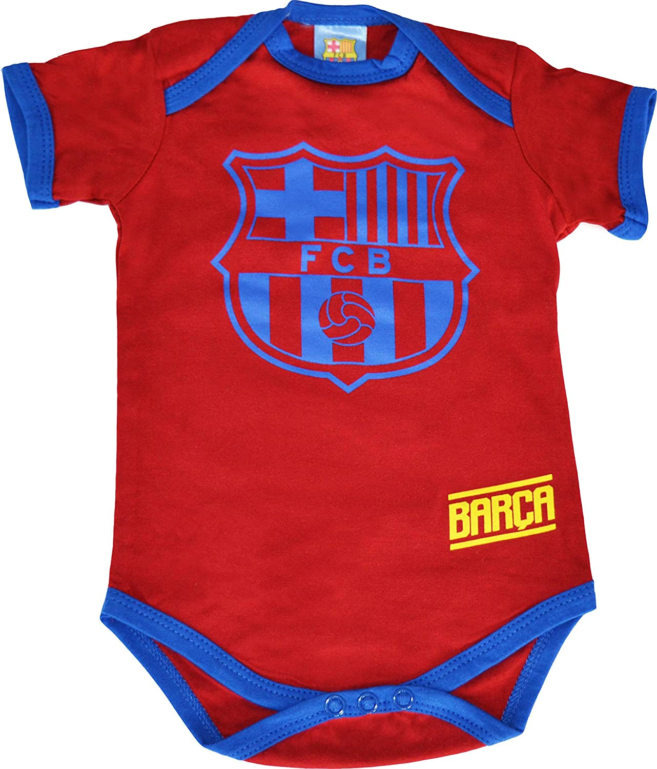 be6c6905f1acd Fc Barcelone 2 x Body Barca - Collection Officielle Taille bébé garçon   Amazon.fr  Sports et Loisirs