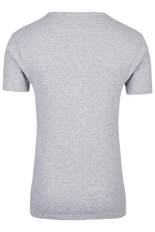 Palleon 4er Pack Herren kurzarm Unterhemden mit V-Ausschnitt: Amazon.de:  Bekleidung