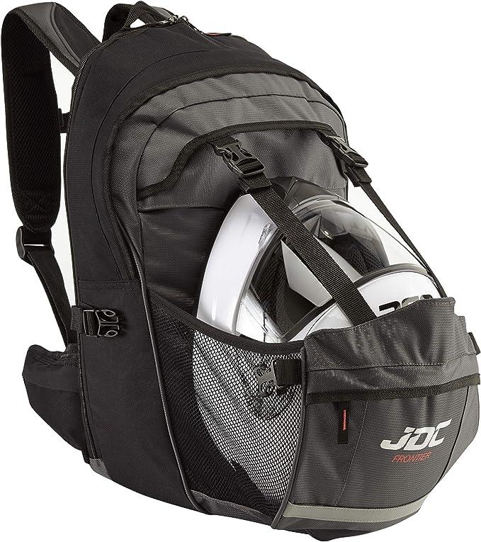 JDC - Mochila para moto (impermeable, con compartimento para el ...