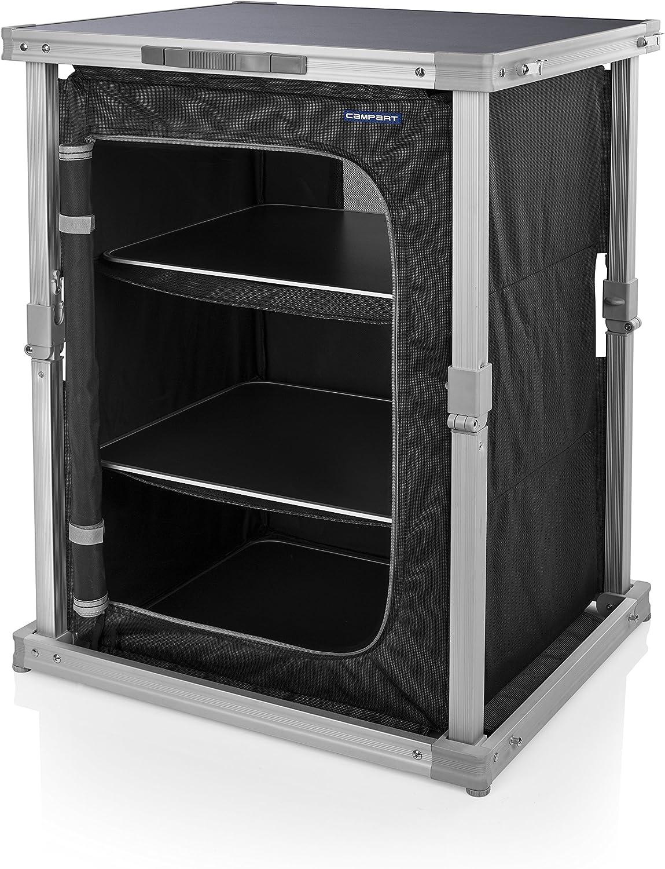 aluminium 3 compartiments Campart travel cu-0724 pliable camping armoire