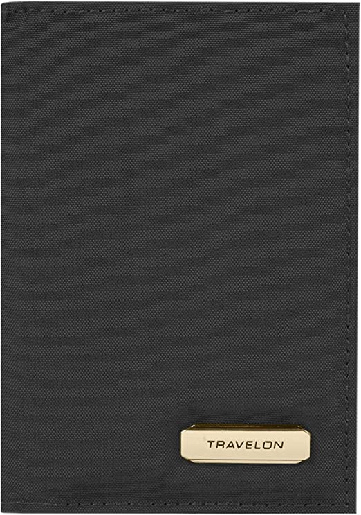 Travelon RFID Blocking Slim Zip Wallet blossom Floral 43397-36C