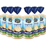 Lundberg Organic Brown Rice Cakes, Lightly Salted, 8.5oz (6 Count), Gluten-Free, Vegan, USDA Certified Organic, Non-Gmo…