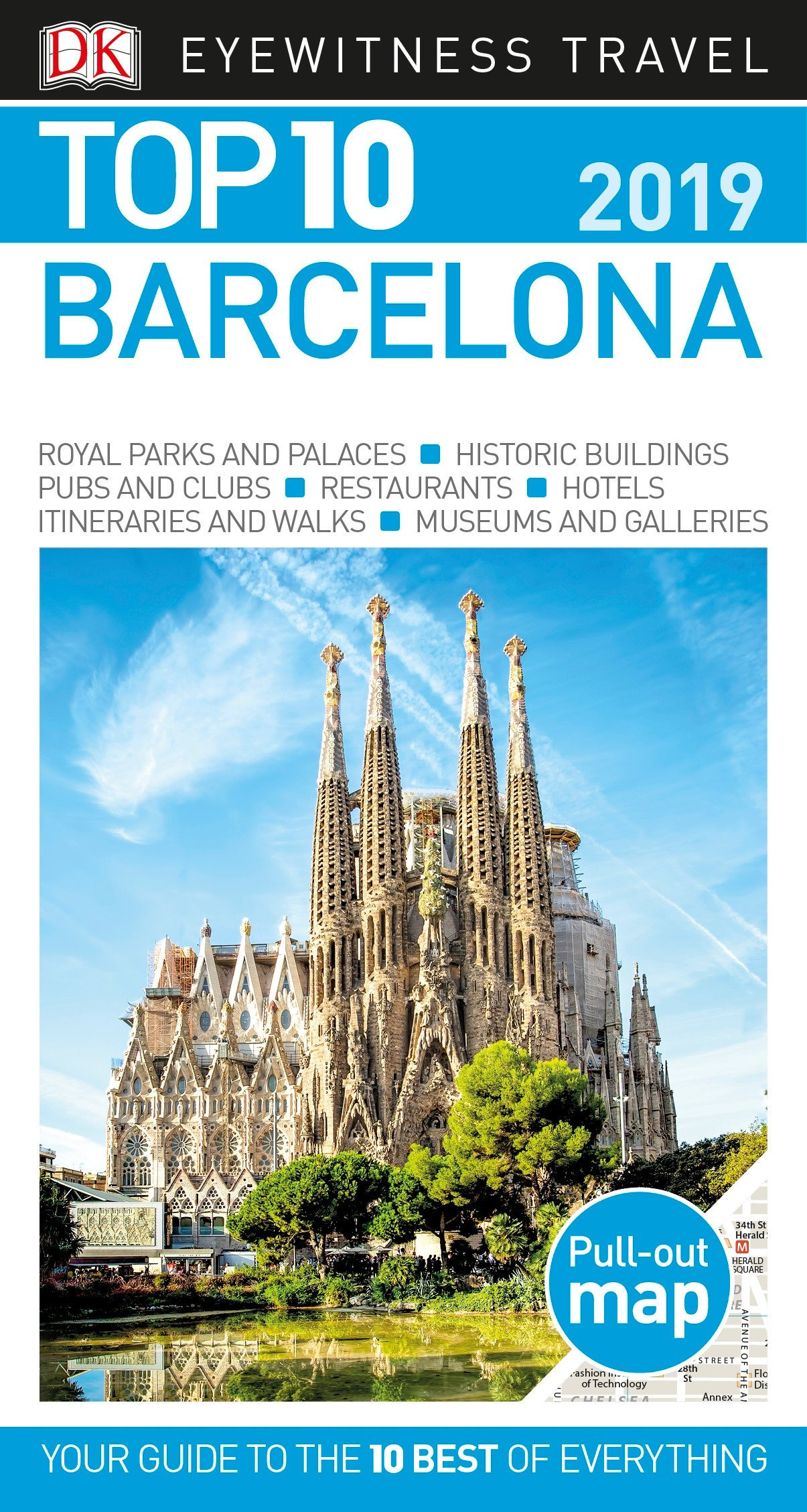 Top 10 Barcelona 2019 Pocket Travel Guide Dk Eyewitness