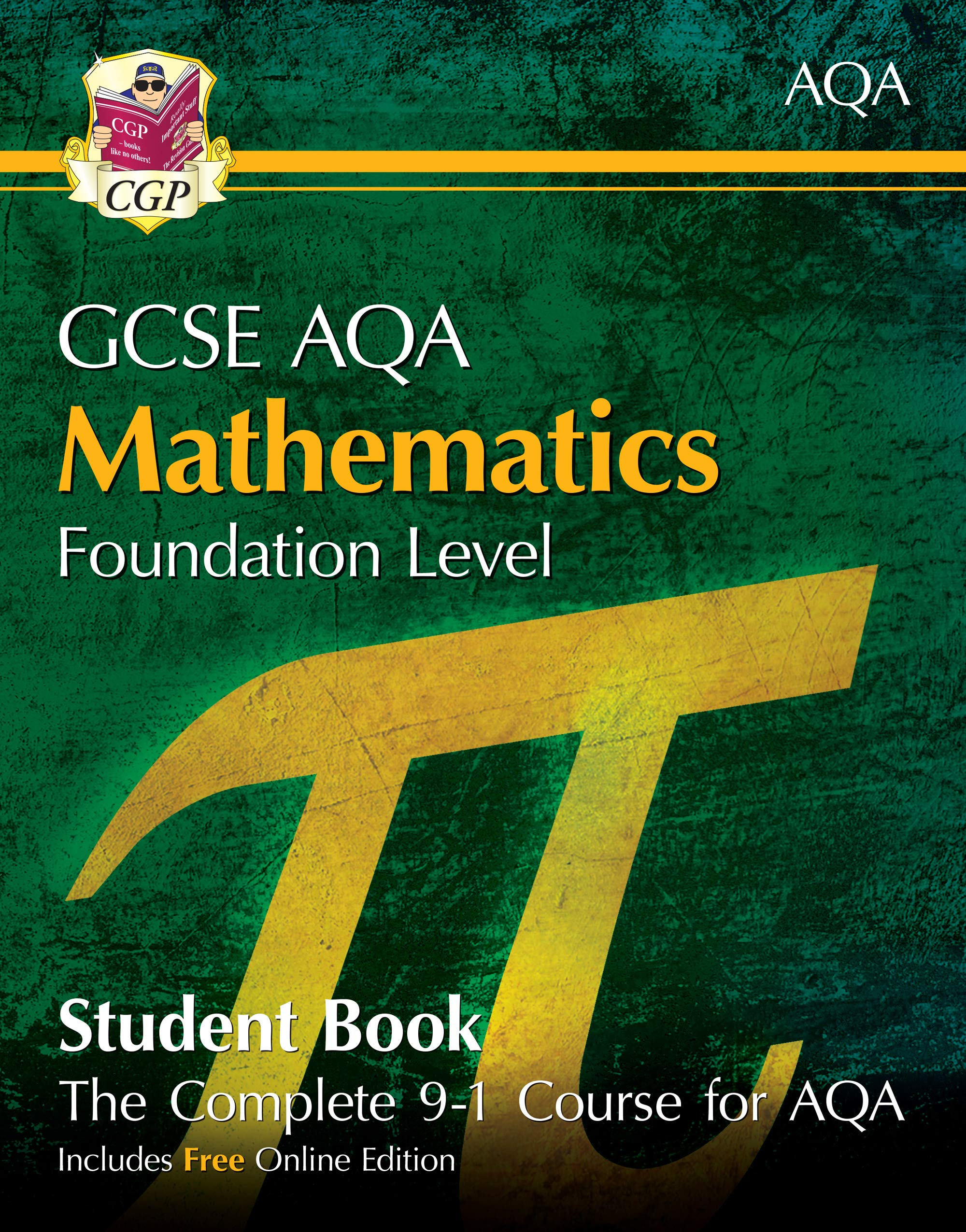 GCSE Maths AQA Workbook with online edition Foundati.. by CGP Books Paperback