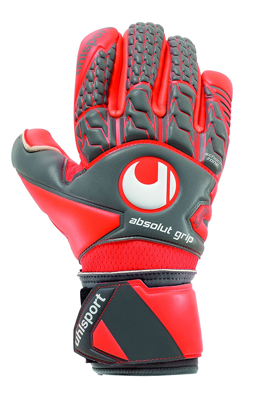 Uhlsport AeroROT Absolutgrip Finger Surround Torwarthandschuhe