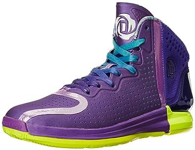 93bd93a9f660 Adidas D Rose 4 Mens Purple Basketball Shoes Size UK 12.5  Amazon.co ...